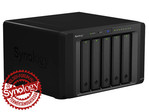 Synology DiskStation DS1515+ 5-lemezes NAS (4x2,4 GHz CPU, 2 GB RAM)