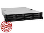 Synology RackStation RS3614xs+ 12-lemezes NAS (4x3,3 GHz CPU, 8 GB RAM)