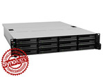 Synology RackStation RS3614xs 12-lemezes NAS (2x3,4 GHz CPU, 4 GB RAM)